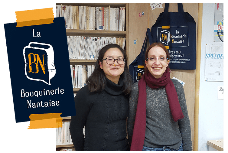 Audrey & Aya : Interview – La Bouquinerie Nantaise